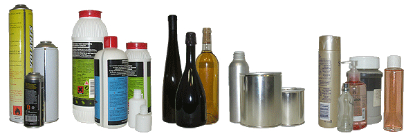 CDA étiqueteuse pour l'industrie récipients