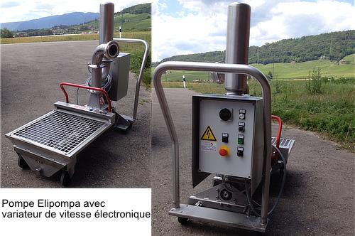 CMA pompe Elipompa avec variateur de vitesse électronique